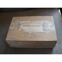 Antigua Caja De Perfumes Roger & Gallet Año 1900, Mide 25x9x