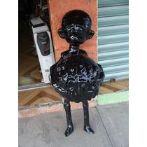 Alien De Fibra De Vidrio 105cm De Altura Sin Pintura, Para Q