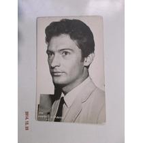 Postal Foto De Enrique Lizalde Artista De Los 60´s