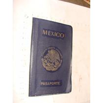 Antiguedad Pasaporte Con Sellos Año 1965
