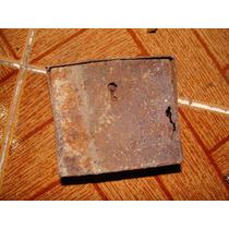 Antigua Cajita Metalica Oxidada