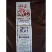 Toros Mexico, Cart San Pedro Atzcapotzaltongo Roberto Ocampo