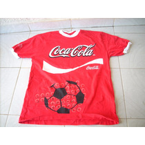 Antigua Playera Seleccion Mexicana Coca Cola Coleccion