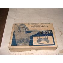 Antiguedad Caja De Brassier Saratin , Corseteria Moderna