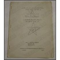 Libro Manual Esoterismo Grado Xvlll Mason José Ugalde 1966