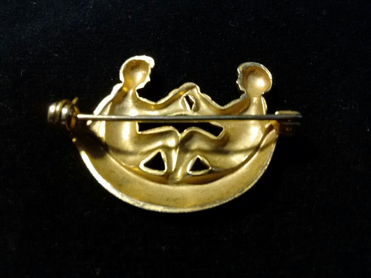 Antiguo dije en ba o de oro de colecci n en - Bano de oro precio ...