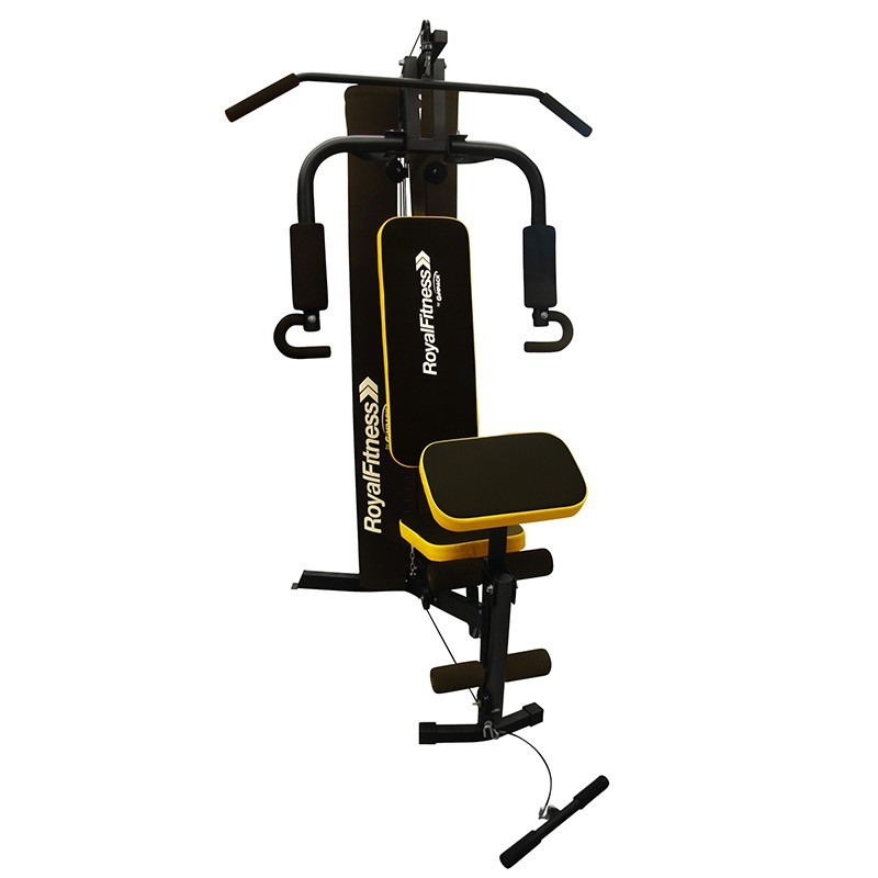 Aparato ejercicio estacion gym gimnasio multifuncional for Aparatos de ejercicio