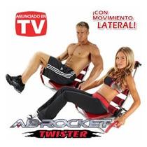 Ab Rocket Twister Nuevo + Dvd Maquina De Ejercicio.