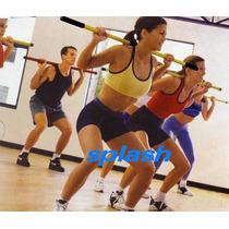 Barra, Baston Para Giros De Lujo, Ejercicios. Gym, Fitness