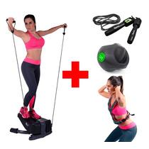Paquete Escaladora Ligas Chaleco Peso Cuerda Pelota Fitness
