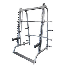 Gym Smith Machine Con Rack Para Peso Libre Con Barra, 2 En 1