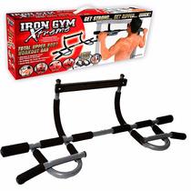 Barra De Ejercicios Flexiones Iron Gym Xtreme Nueva