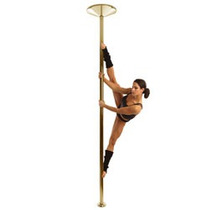X-pole Titanium Gold 45mm Para Fitness Y Baile
