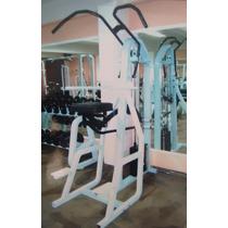 Maquinas Gym:dominadas Y Fondos Peso Libre Y Peso Integrado