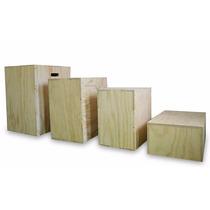 Plyo Box, Banco, Cajon, Crossfit, 3 En 1, Medida Competencia