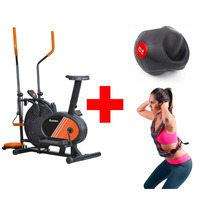 Paquete Eliptica Multifuncional Chaleco Peso Pelota Fitness