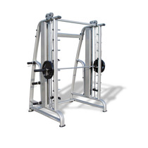 Gym Smith Machine Con Contrapeso Uso Rudo Al 100%
