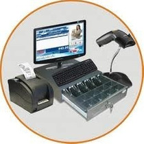 Kit Punto De Venta Mini-printer, Lector, Cajon Software