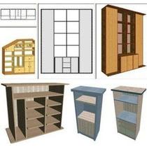 Programa Diseñar Muebles + Optimizador De Corte + Escaleras