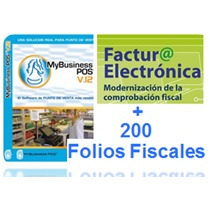 Facturacion Electrónica Con My Business Pos V2012+200 Folios