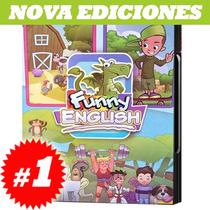 Ingles Para Niños, Funny English 4 Cd Rom, Nuevo Y Original