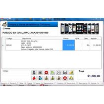 Sistema Punto De Venta Para Telefonos Y Accesorios