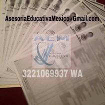 Certificado De Preparatoria Titulo Ced Profesional