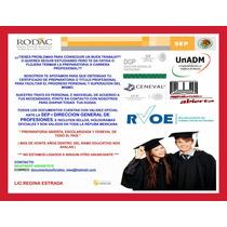 Certificado De Preparatoria Y Titulo Profesional