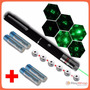 Apuntador Láser Verde 50 Mw, 15 Km + Regalos