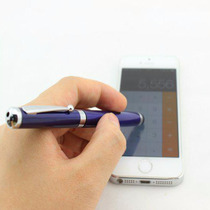 Pluma 4 En 1 Laser Stylus Touch Pluma Lampara P Smartphone