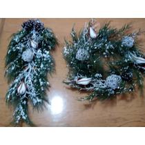 Arbolesde Navidad Corona Navideña De Lujo