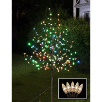 Nuevo 6ft 208led Arbol Navidad O Festividad,multicolor