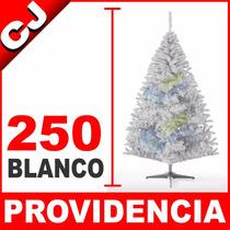 Arbol De Navidad Blanco Mate 250 Providencia Pino Artificial