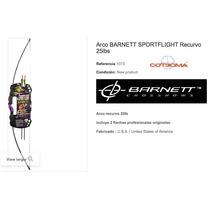 Arco Recurvo Pro Barnett Original 25lb Envio Gratis