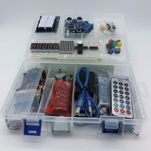 Arduino starter kit uno o mega principiantes manuales