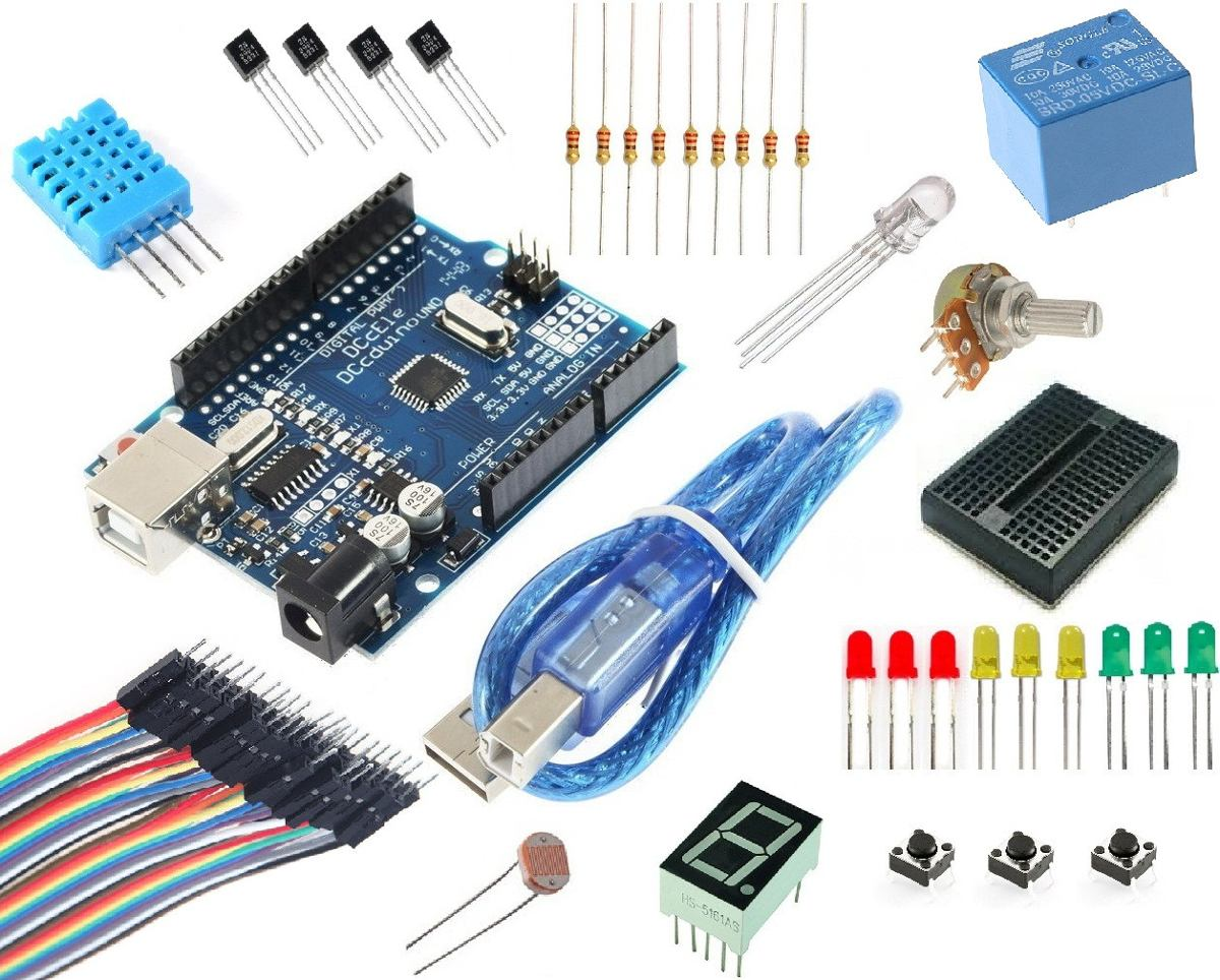 Arduino uno smd compatible starter kit en