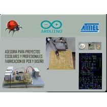 Asesoria Para Proyectos,pcb,arduino,avr,microcontroladores