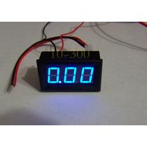Amperimetro Digital 10a, 4-30 Vdc , Arduino ,automotriz
