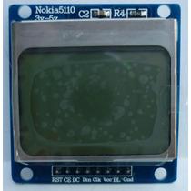 Pantalla Lcd Nokia 5110 48x84 Back Light Blue Pic Arduino