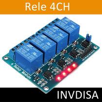 Modulo 4 Canales Relevador Rele Relay 5v Arduino 4ch