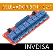 Modulo Rele Relay Relevador 8 Canales 12v Arduino Pic