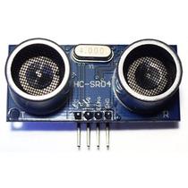 1 Pz Modulo Sensor Ultrasonico Hc-sr04 Arduino Atmel