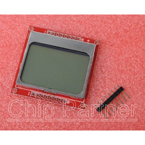 Arduino: Lcd 84x48 Pixeles (nokia 5110/3310) Backlight Azul