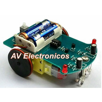 Kit Robot Seguidor De Linea Robotica Para Armar O Armado