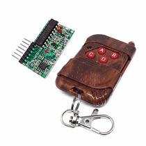 Control Remoto Y Receptor Rf 4 Canales 415mhz, Arduino,pic