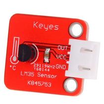 Modulo Sensor De Temperatura Lm35 (arduino Robotica Pic)