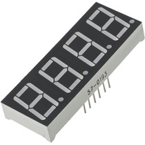 Display 7 Segmentos 4 Dígitos Ánodo Común Arduino Pic Avr