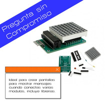 Kit Para Pantalla De Leds Con Integrado Y Pcb