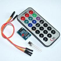Kit Control Remoto Infrarrojo Más Receptor 38khz, Arduino