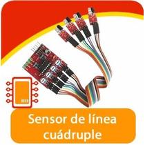 Sensores Seguidor De Linea Cuádruple, Arduino